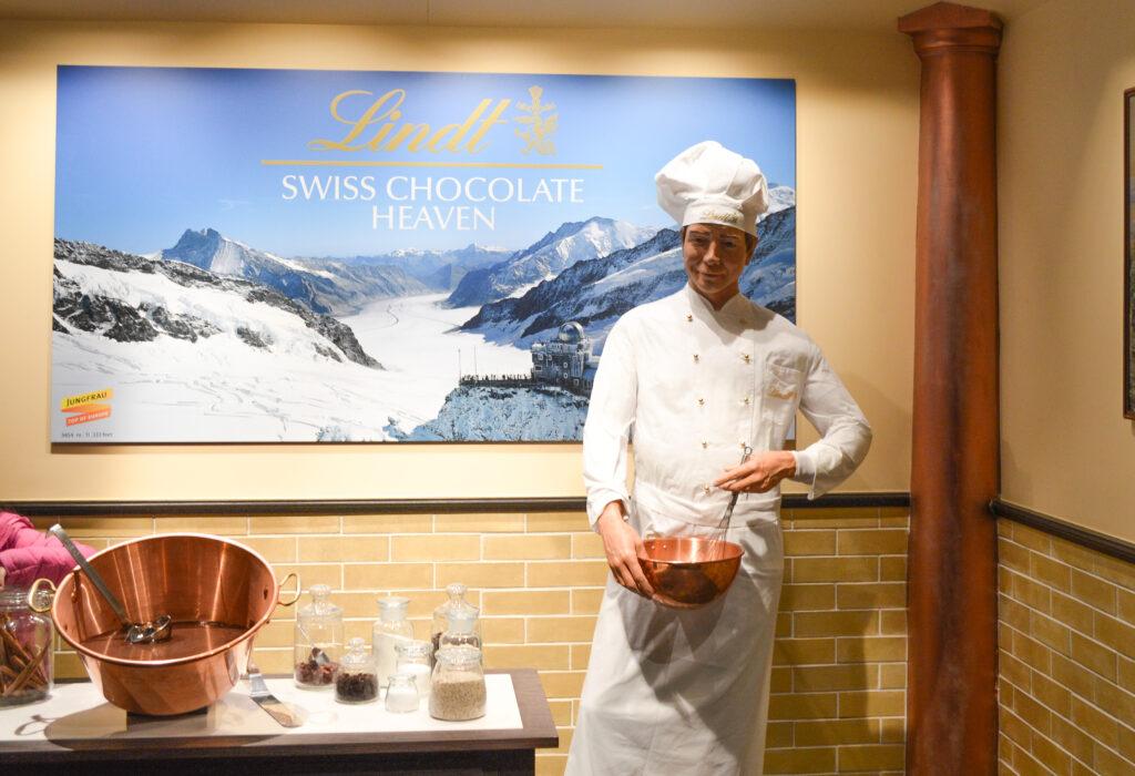 Swiss Chocolate Heaven, Jungfrau, Switzerland