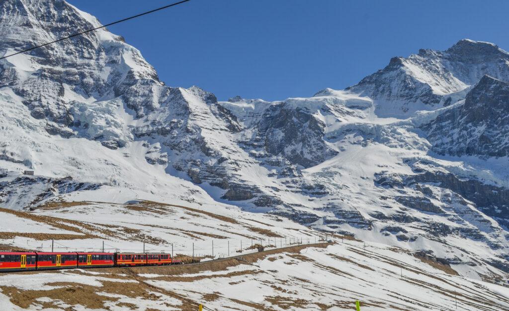 En route Jungfrau, Switzerland