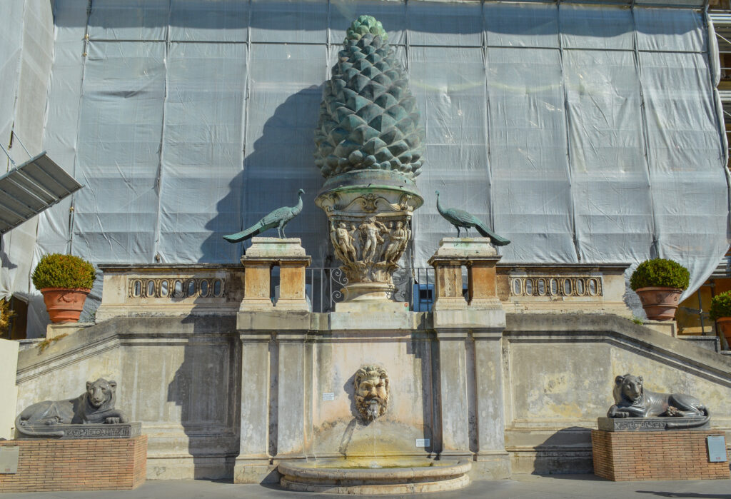 Courtyard of the Pinecone, Vatican