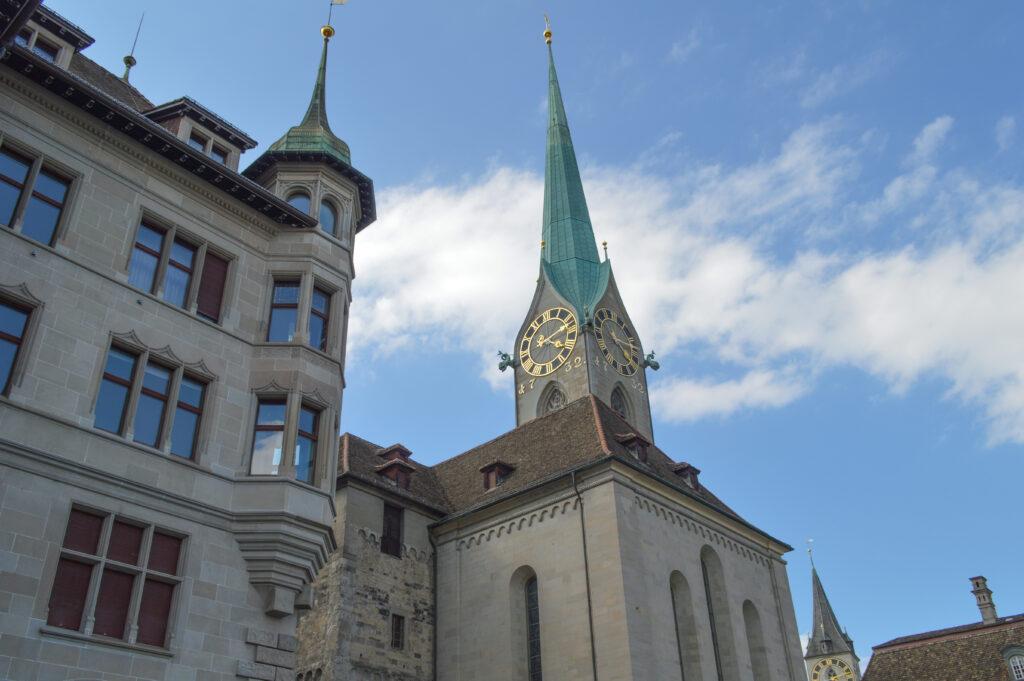 The Fraumunster or Women's Church, Zurich