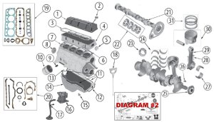 Diagrams For Jeep :: Engine Parts :: 25L Engine