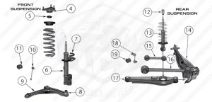 Diagrams For Jeep :: Suspension Parts :: Compass & Patriot