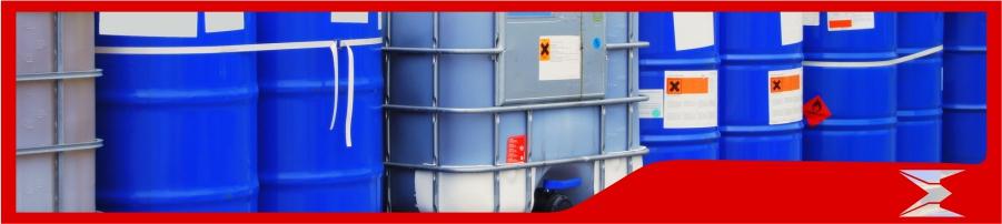Movimentação de produtos químicos e perigosos