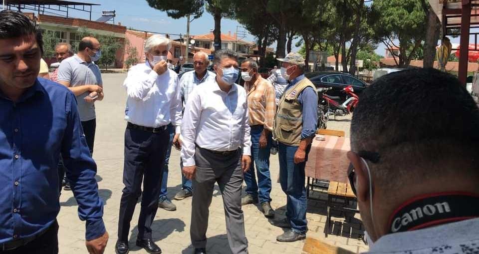 Milletvekili Özkan deprem bölgesinde