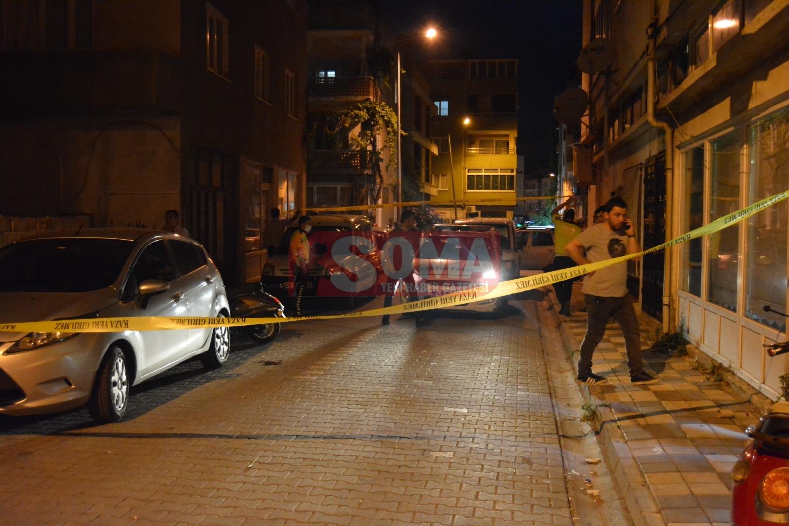 Soma'da silahlı yaralama… 1 yaralı