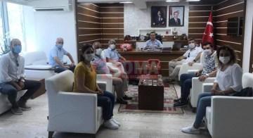 CHP'den Kaymakam Akkaya'ya Ziyareti