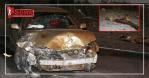 Otomobiller karayolundaki koyun sürüsüne daldı: 7 kişi yaralandı, 15 koyun telef oldu