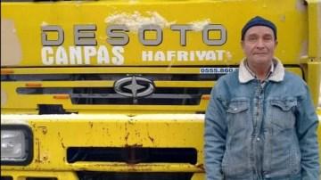 Maden sahasında üzücü kaza, 1 ölü