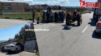 Cenkyerinde Trafik Kazası, 2 Yaralı