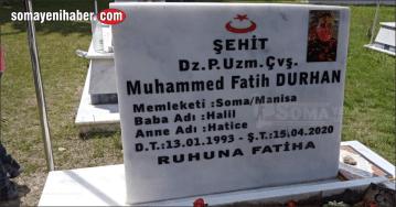 Şehit Durhan şehadetinin birinci yılında dualarla anıldı