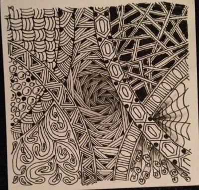 zentangle curves2