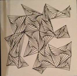 Zentangle Experiment