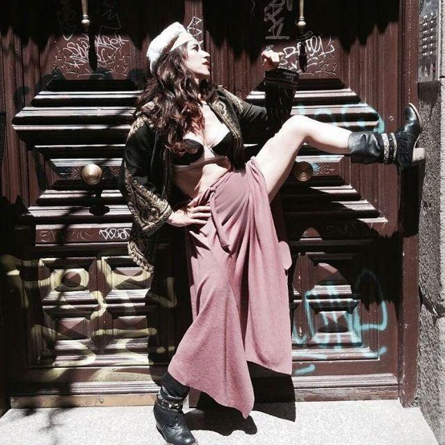 Sombreros Agustina Goya street stylemodelo Soraya Sainz