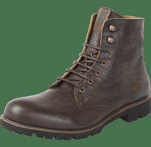 Hilfiger Denim Leder Boots dunkelbraun