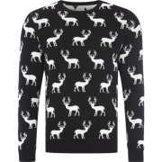 Selected Homme Strickpullover mit Rentieren