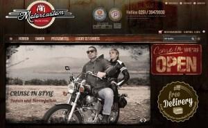 Online Shop für Retro Motorradjacken