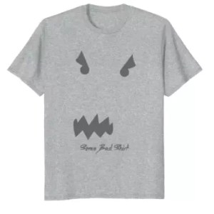 Some Bad Shirt Logo T - SB11G - Heather Grey