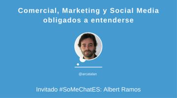 Comercial, Marketing y Social Media #somechates