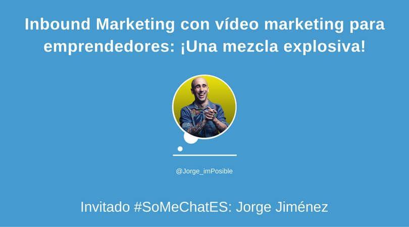 Estrategia de Vídeo Marketing - Twitter chat