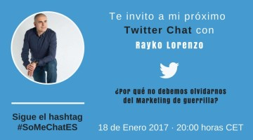 Acciones Street Marketing & Marketing de guerrilla – Twitter chat
