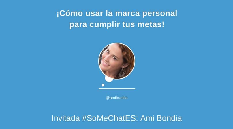 Branding personal Twitter chat Ami Bondia