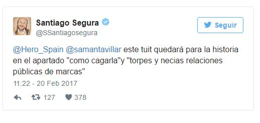 Plan de gestión de crisis . Santiago Segura