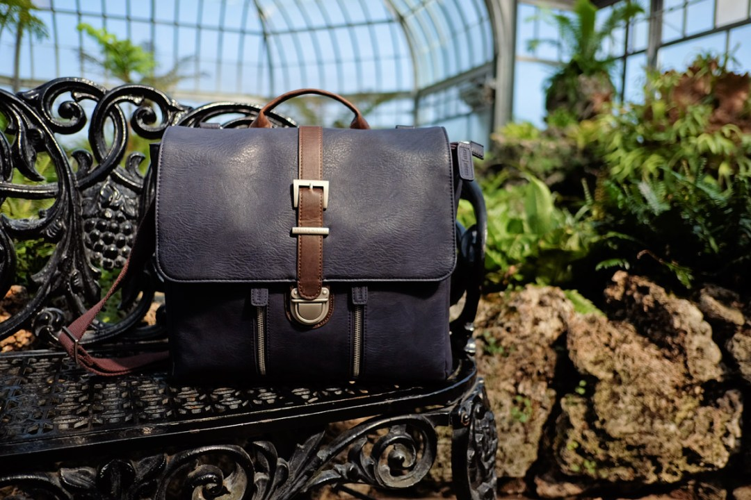 The Chapel backpack by Kelly Moore in midnight.
