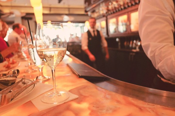 Happy Hour at Truluck's in Naples, arrive early.