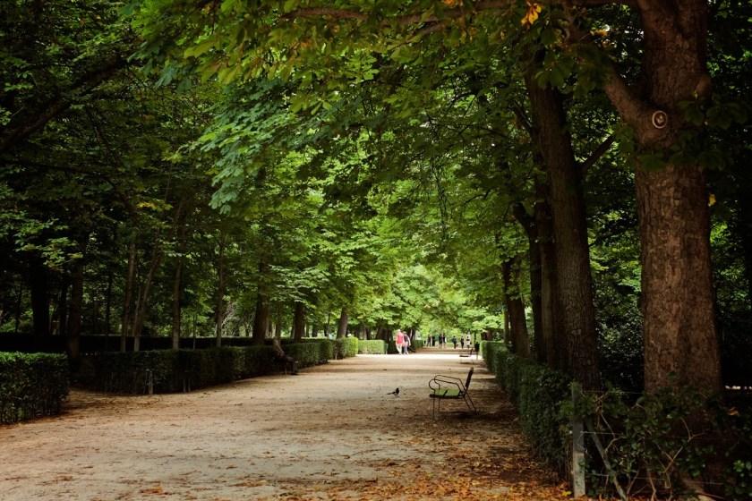 Retiro path