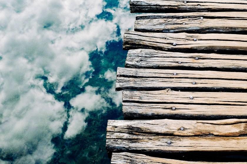 Boardwalk over Clouds