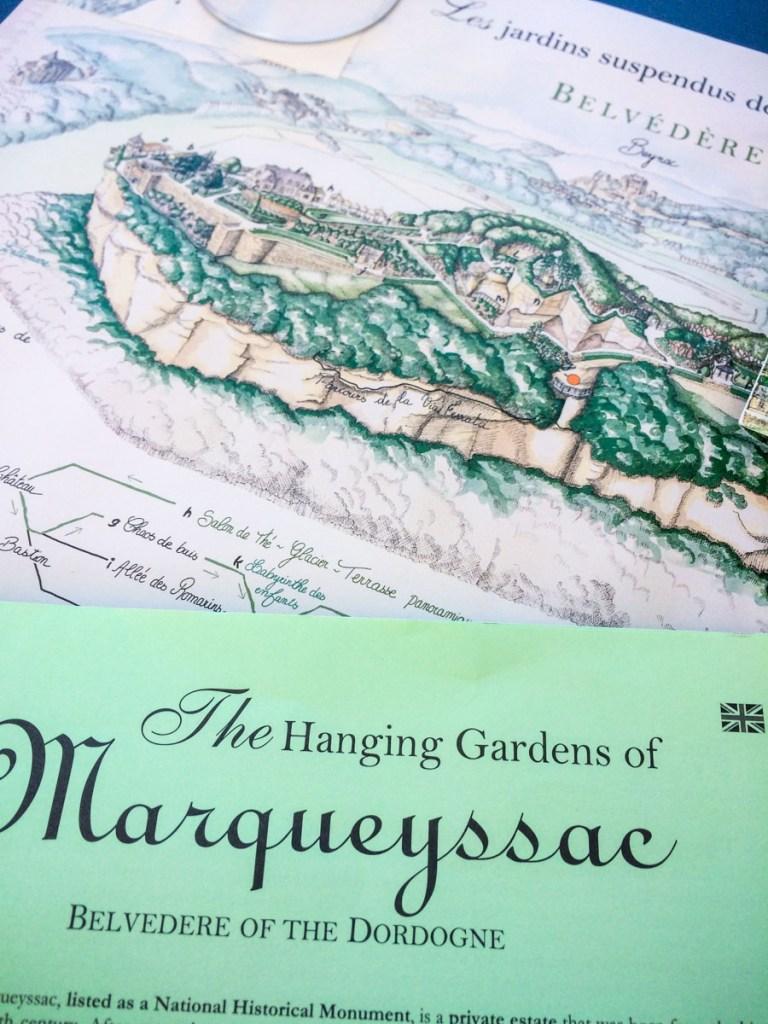 Marqueyssac Map