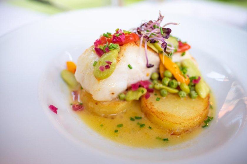 Lagnes Restaurant in Provence
