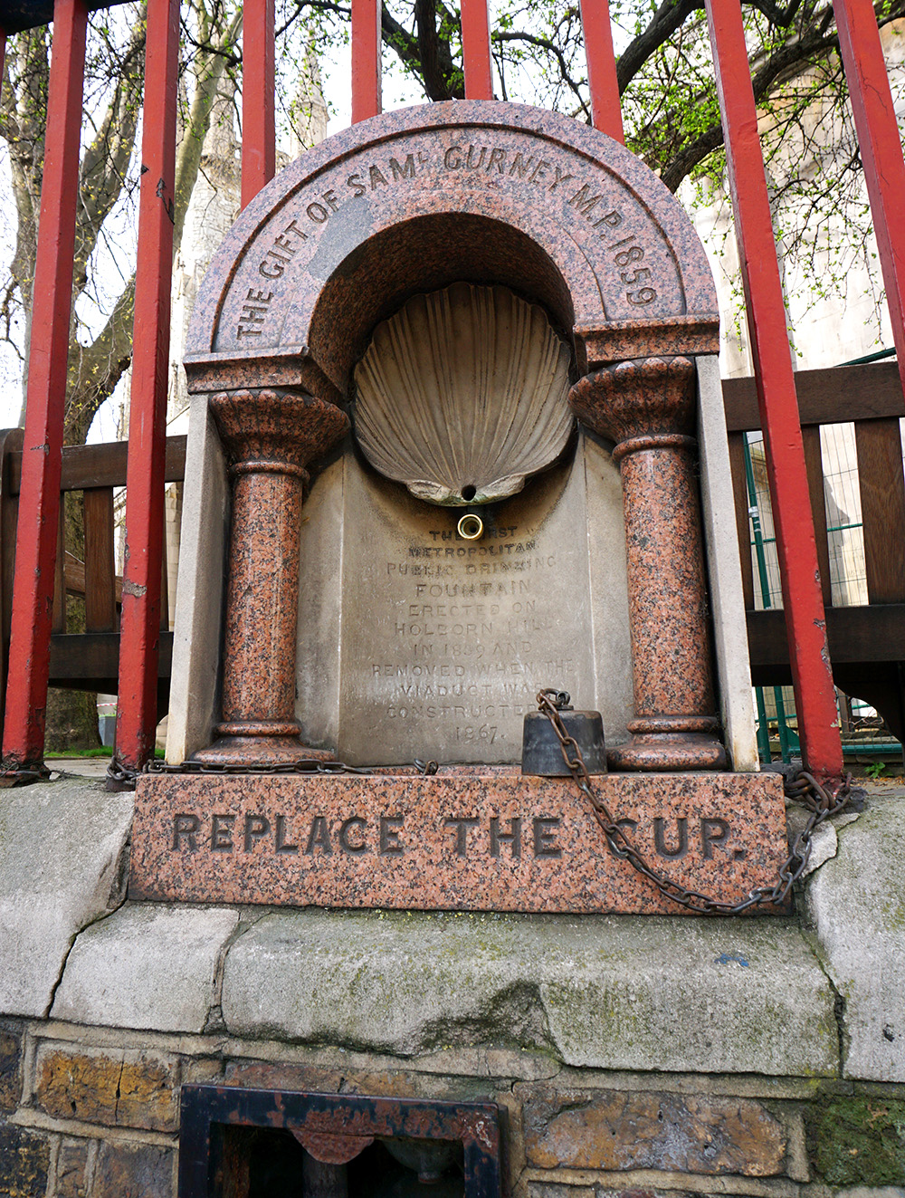 London's First Public Fountain