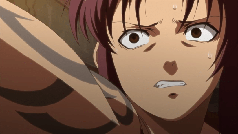 Rock and Revy Argue, Black Lagoon - Musings on Anime