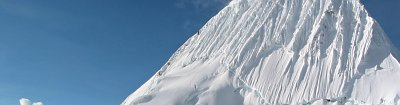 snow-covered peak