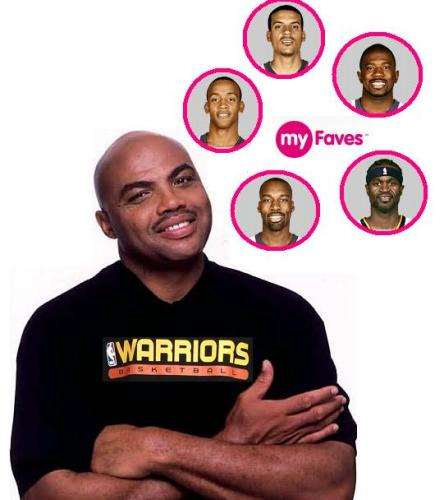 Chuck's fave 5