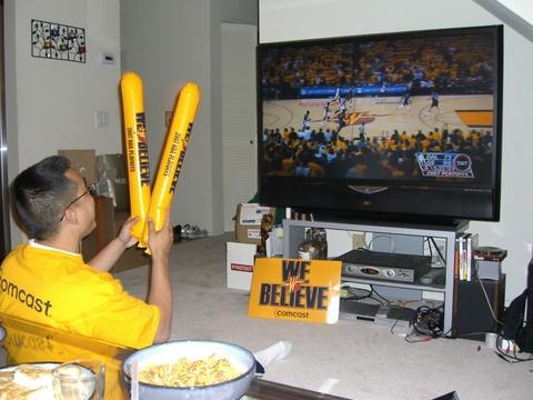 a new sports fan is born