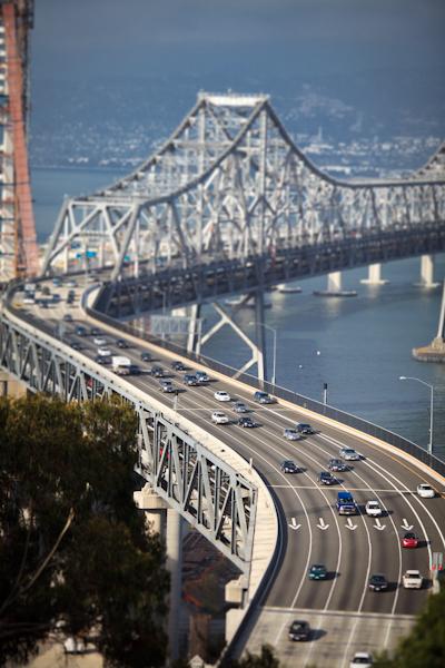 bay bridge s curve