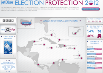Jet blue election protection