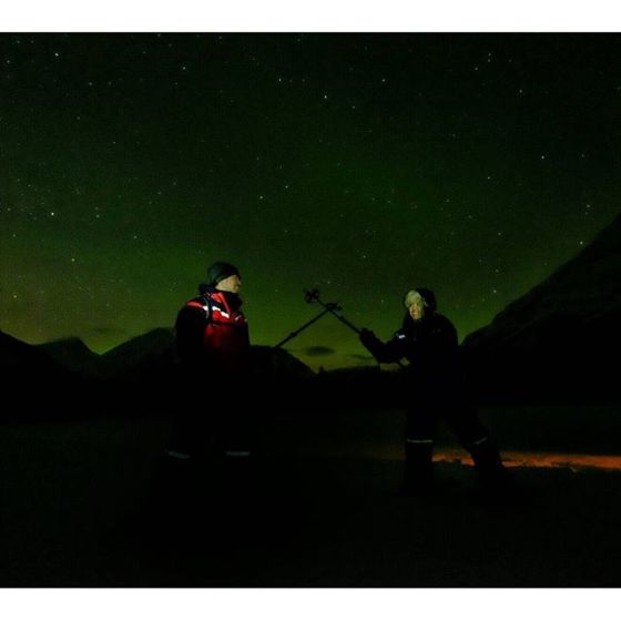 Flashed these people and their shenanigans under the #northernlights #auroraborealis