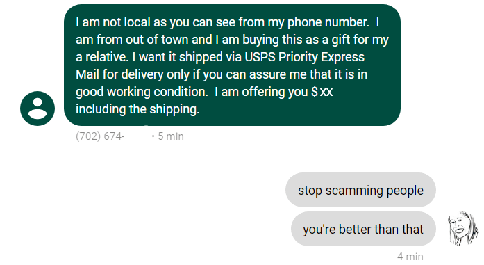 Craigslist Scammers