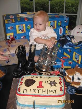Jack's First Birthday!