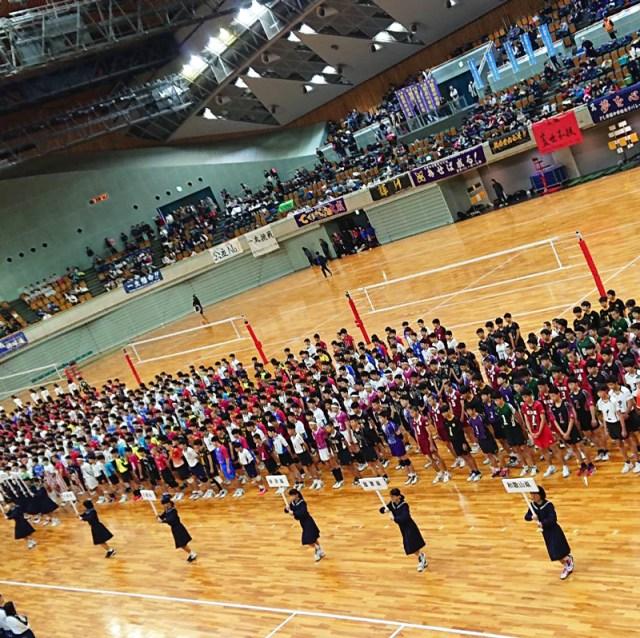 大成中学校 男子バレーボール部 横断幕3