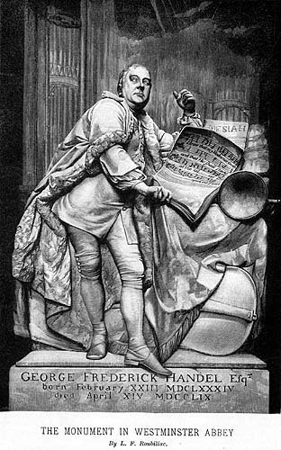 Handel in Westminster Abbey