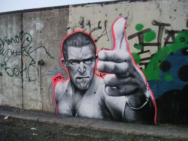 MTO (Graffiti Street art): La haine