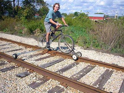 Bicicleta para Trilho