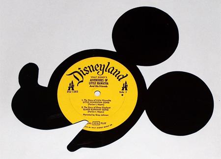 artesanato em discos de vinil
