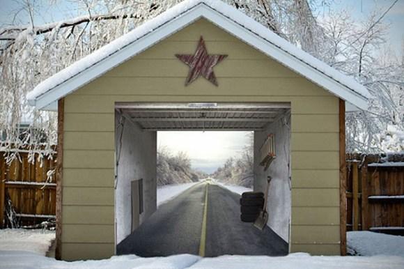 Adesivo garagem 07