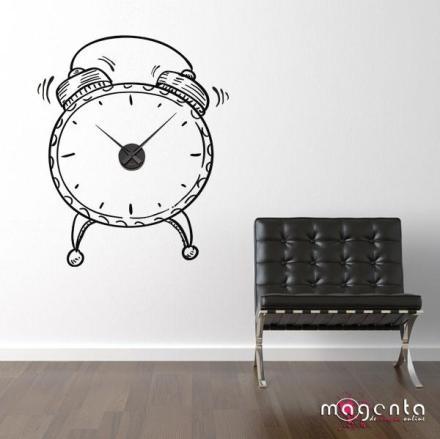 Relógio de parede diferente