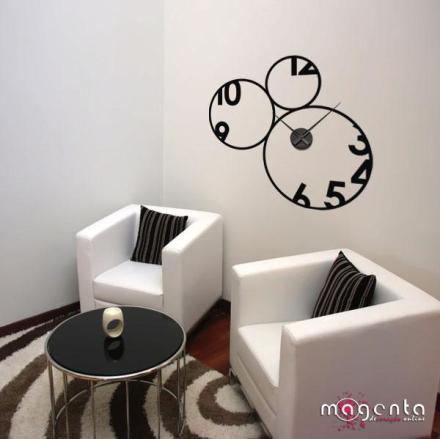 Relógio de parede criativo